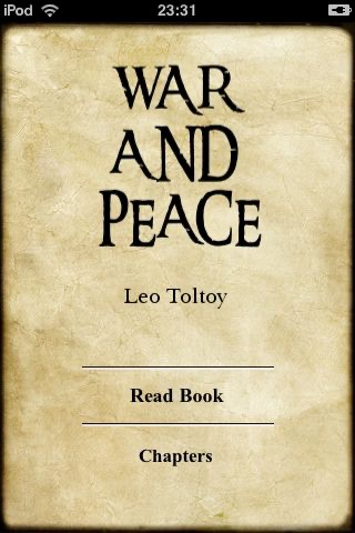 War and Peace by Leo Tolstoy (ebook)