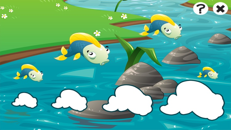 Fishing game for children age 2-5: Fish puzzles, games and riddles for kindergarten and pre-school screenshot-4