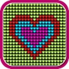 download Glow Neon Heart Lights