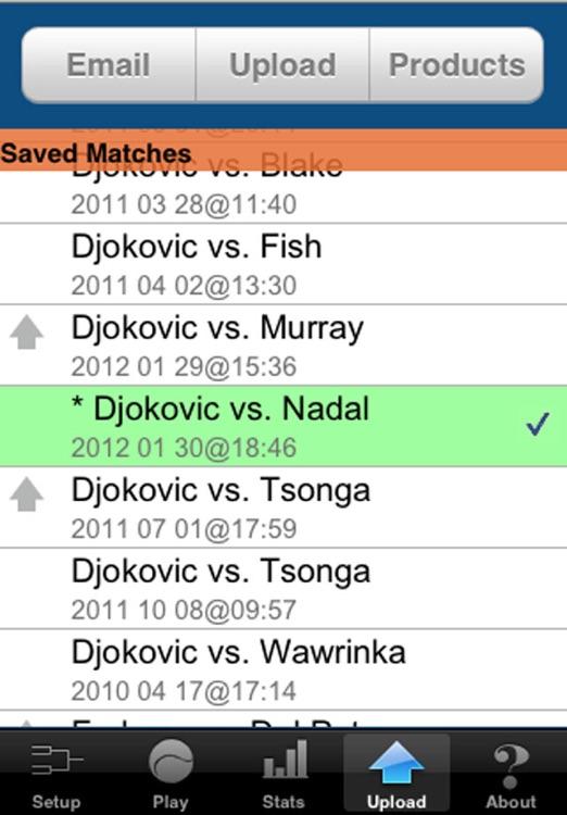 Tennis Trakker Pro screenshot-4