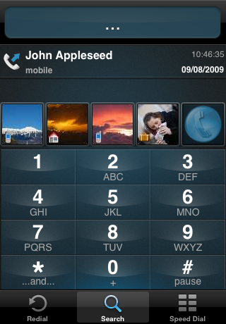 TAKEphONE Lite contacts dialer screenshot two