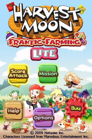 Harvest Moon Frantic Farming Lite screenshot-3