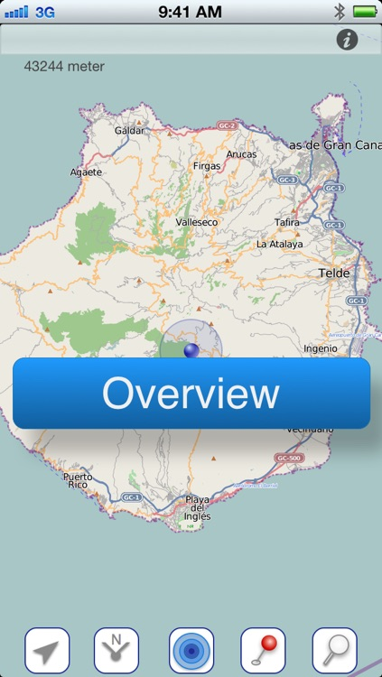 Gran Canaria Offline Map