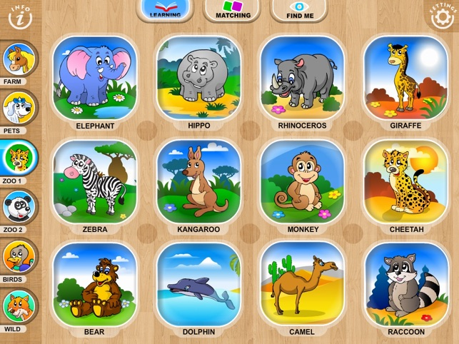 Abby Monkey® Baby Zoo Animals: Preschool activity games for