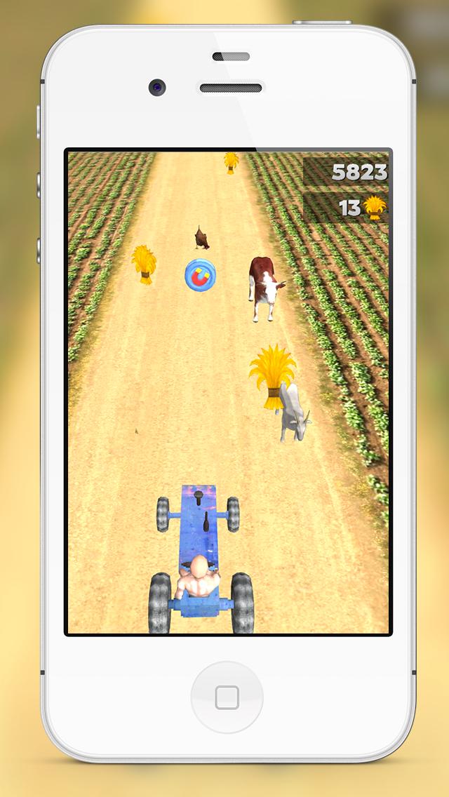 ガールズ&ボーイズフリーのための3D楽しい農家トラクターレーシングティーンエイジャゲームベストニュー良いハードのゲームのおすすめ画像1