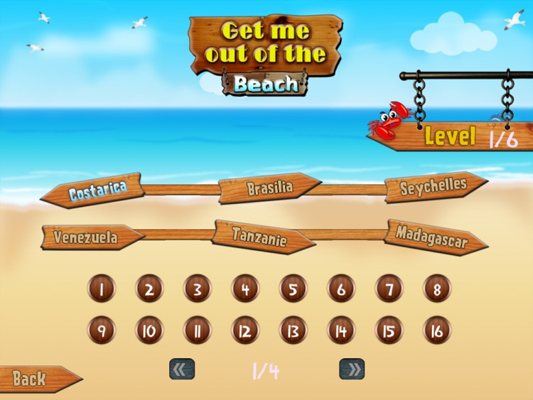 Get me out of the beach HD FREE , the hot summer traffic and puzzle game screenshot-2