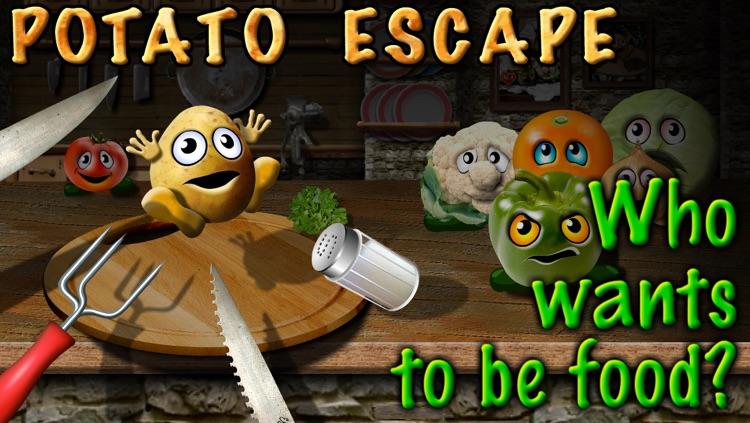 Potato Escape - One Touch Runner
