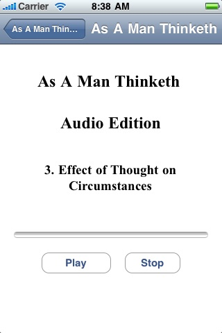 As A Man Thinketh - Audio Edition