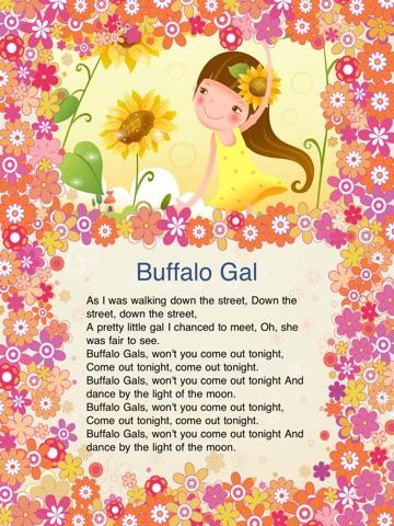 ... Screenshot  5 for Kids Song B for iPad - Child Songs Lyrics   English  Words efa30d29dfa
