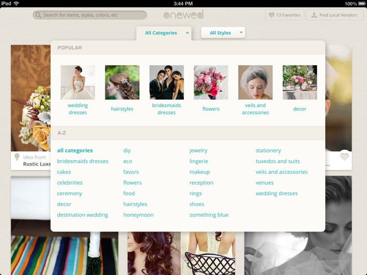 Wedding Inspiration and Planner from OneWed screenshot-3