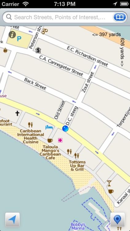 Saint Martin the Offline Map
