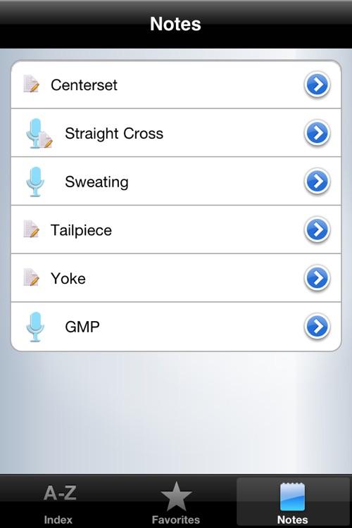 Plumbing - Glossary screenshot-3