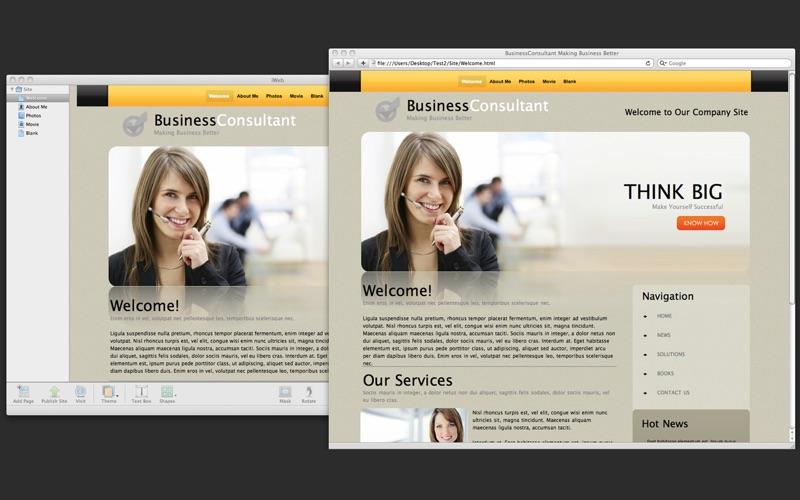 Theme Designs for iWeb скриншот программы 4