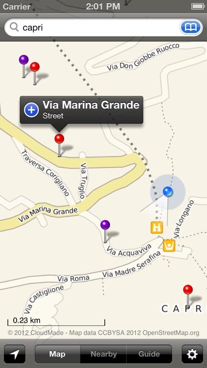 Smart Maps - Naples (Napoli, Pompeii & Capri)