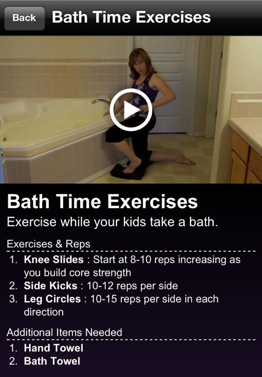 Super Mom Workout screenshot-3