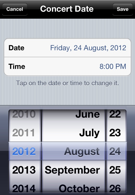 Concert Countdown screenshot-3