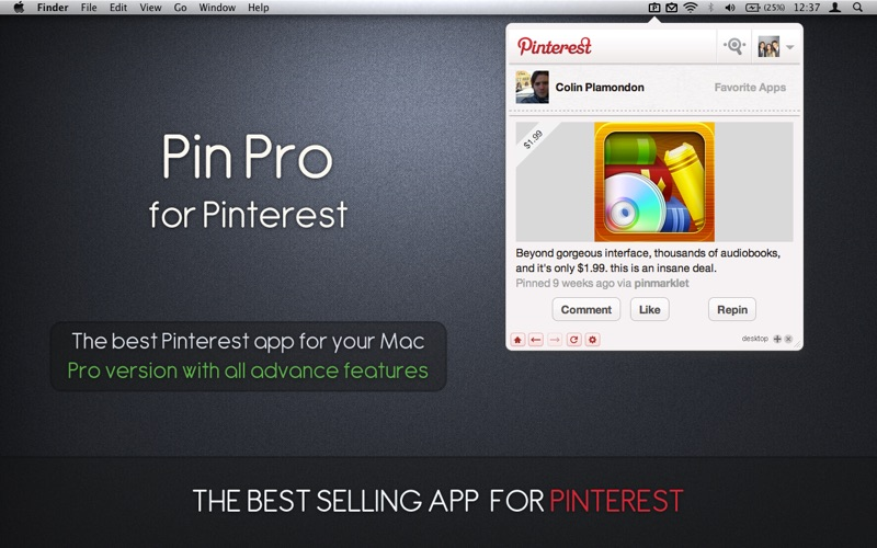 Pin Pro for Pinterest Screenshots