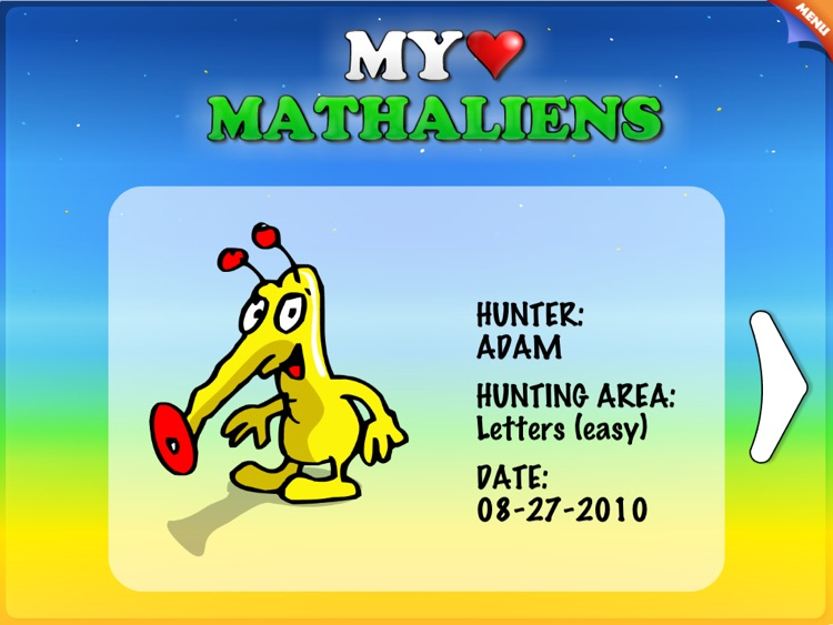 ABC - Letters, Numbers, Shapes and Colors with Mathaliens HD screenshot-4