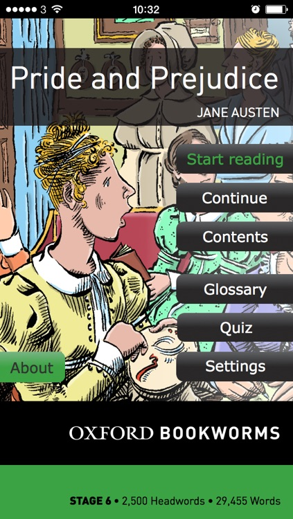 Pride and Prejudice: Oxford Bookworms Stage 6 Reader (for iPhone)