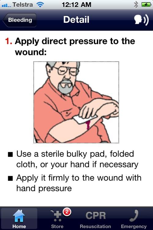 First Aid Emergency Handbook - Lite screenshot-4