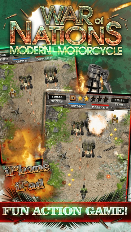 A Modern Motorcycle War of States - Real Offroad Dirt Bike Racing Shooter Game HD FREE