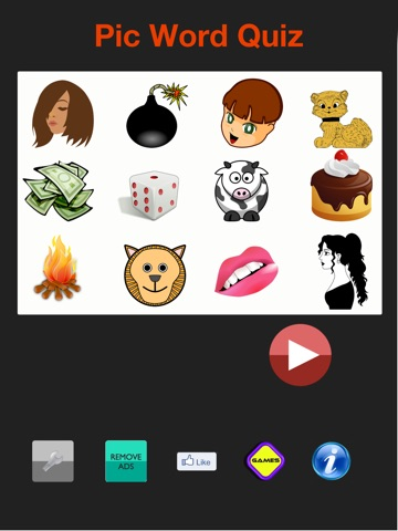 Pic Word Quiz Free - Guess the amusing Emoji Pop Photo Slang Dictionary-ipad-0