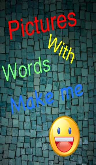 Pictures with Words Pro app image