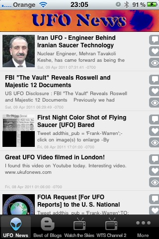 UFO News,Videos, Sightings and More!