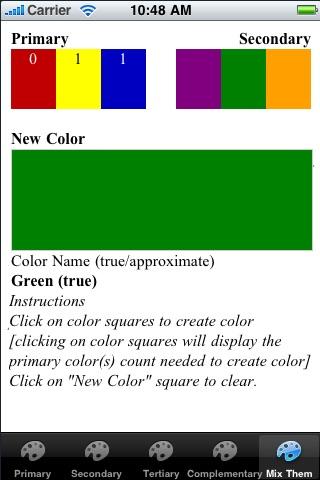 Color Wheel RYB
