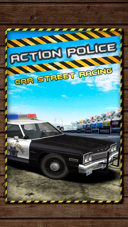 Action Police Car Street Race - Nitro Cops Extreme Heat