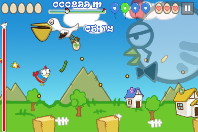 Doodle Chicken Free screenshot-1