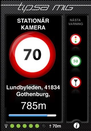 Hastighetskameror Sverige: Tipsa mig