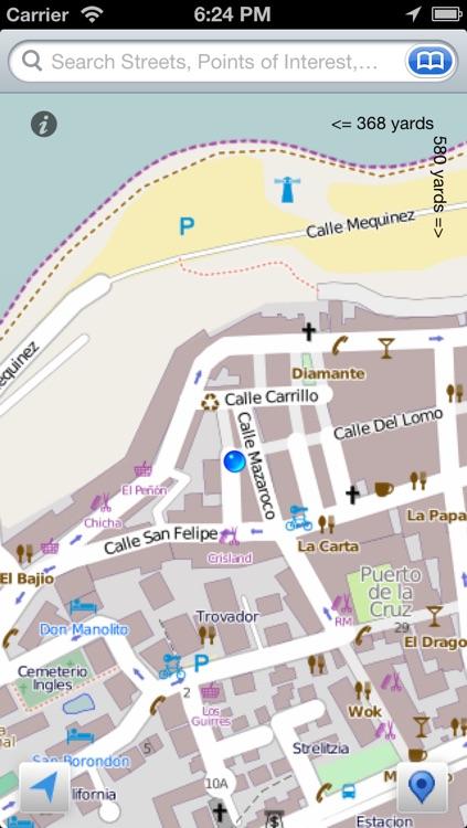 Tenerife the Offline Map