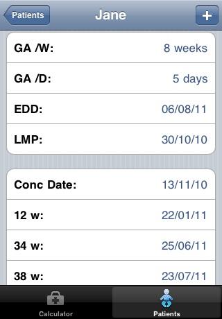 Gestational Age Calculator screenshot-3