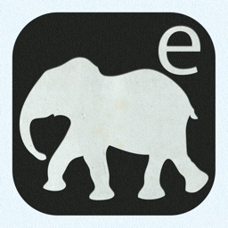 E is For Elephant - Alphabet Silhouettes