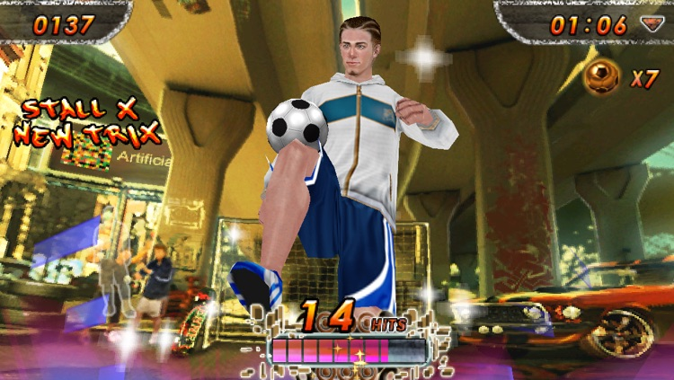 iSoccer Backstreet Lite screenshot-3