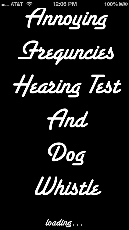Annoying Frequencies - Hearing Test and Dog Whistle
