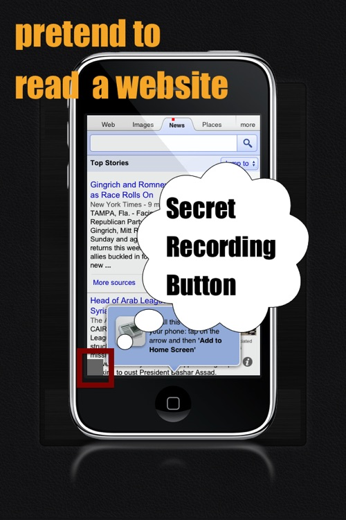 Secret Recorder® FREE