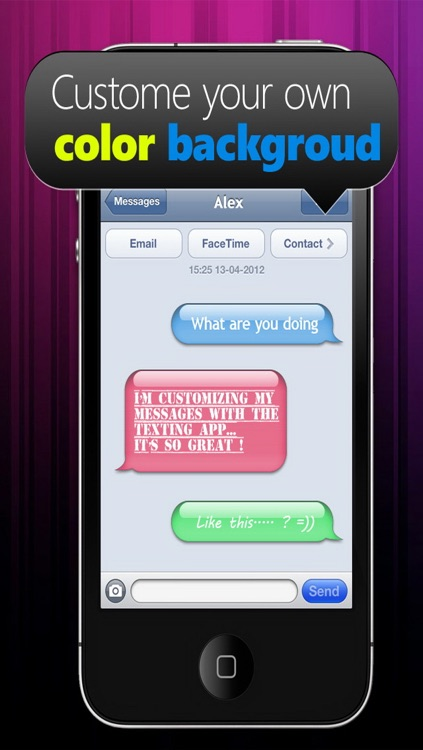 Color & Fonts for Messages screenshot-3