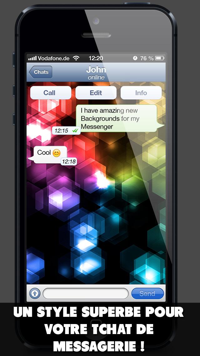 download Fond d'écran pour ton application de messagerie apps 0