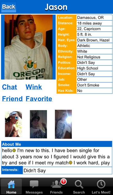 DateHookup Dating - Free Singles Dating Chat, Online Dating Personals App! screenshot-3