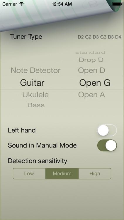 Strings Tuner