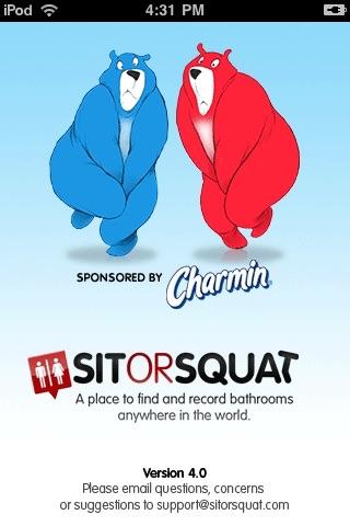 SitOrSquat: Bathroom Finder
