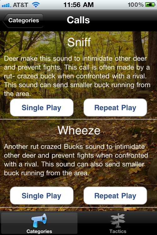 Deer Calls Mobile screenshot-2