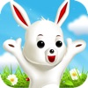 Bunny Hopper - Jump from Tile to White Tile and Pick up the Easter Carrots without tap or touch blank spaces
