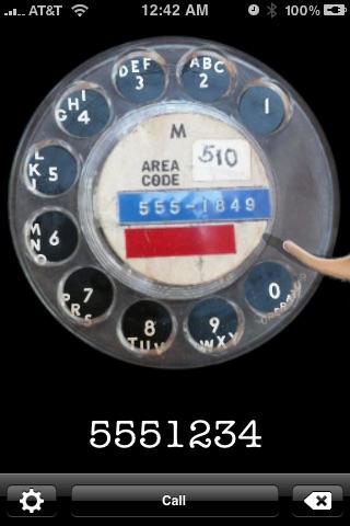 Rotary Dialer Screenshot 1