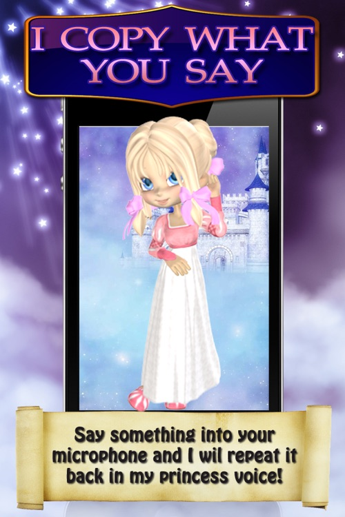 Sleeping Beauty Princess Diary Free - Fun Girl Talking App for iPhone & iPod Touch