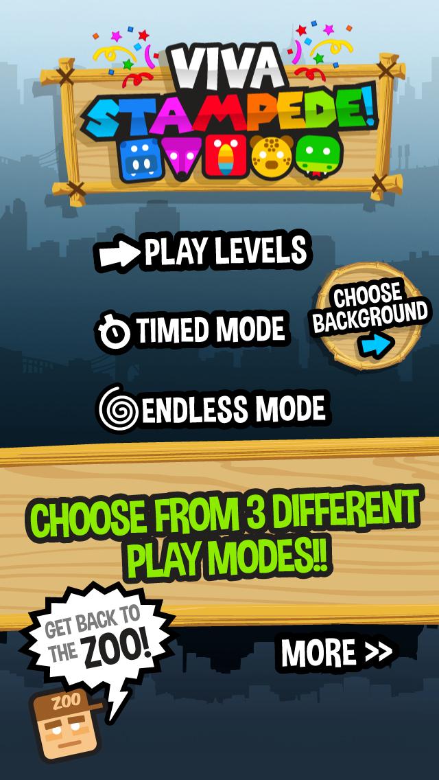 Viva Stampede - Match Three Puzzle Game screenshot three