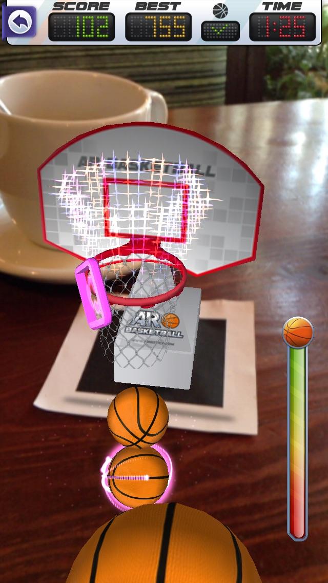 ARBasketball - Augmented Reality Basketball Game Screenshot 1