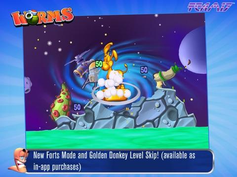 Скачать игру Worms HD